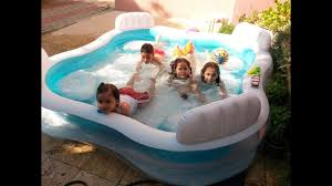 Inflatable Bath For Toddlers by Kids Having Fun In Inflatable Water Pool Swimming For Children