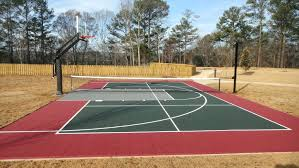 Backyard Basketball Court Ideas Outdoor Basketball Court Design ... Outdoor Courts For Sport Backyard Basketball Court Gym Floors 6 Reasons To Install A Synlawn Design Enchanting Flooring Backyards Winsome Surfaces And Paint 50 Quecasita Download Cost Garden Splendid A 123 Installation Large Patio Turned System Photo Album Fascating Paver Yard Decor Ideas Building The At The American Center Youtube With Images On And Commercial Facilities