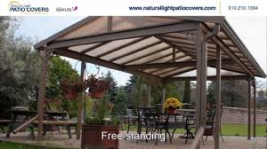 Patio Covers Las Vegas by Natural Light Patio Covers Nc Youtube