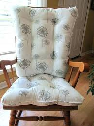 rocking chair pad crochet rocking chair cushion pattern custom