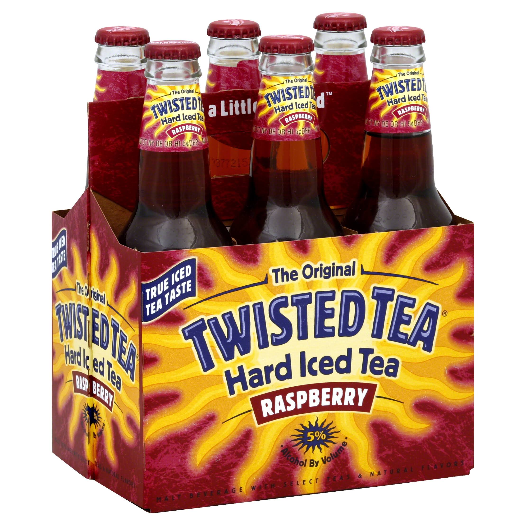Boston Twisted Tea - Raspberry, 6pk, 12oz