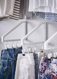 diy ideen zum aufhängen der kleider kleiner kleiderschrank