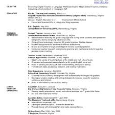 Great Sample Student Teacher Resume Images Gallery Military To