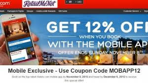 Hotels.com Discount Code For 12% Off With The Mobile App Hotelscom Promo Code For 10 Discount Bookings Until 7 Off Coupon With Emlhotel Code Dealcomsg Coupon 5 Gateway Tire Service Coupons Hotels Nascar Speedpark Seerville Tn 12 The Mobile App From Dhr All Hotel Reservations Made On Hotelscom Use Hotelscom Off Discount 2019 August Advocare Classic Amazonca Book 2018 Marvel Omnibus Deals Latest Update September
