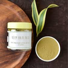 100 Natural Herbal Neem Hair Pack