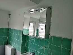 spiegelschrank alibert hochglanz weiss led licht