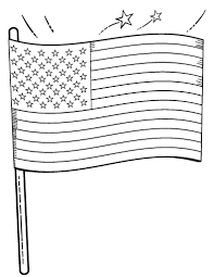 Printable American Flag Coloring Page Free PDF Download At Coloringcafe