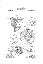 Theo A Kochs Barber Chair Footrest by Patent Us957258 Hydraulic Barber U0027s Chair Google Patents