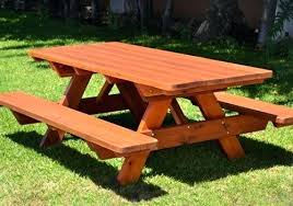 Wooden Outside Table Folding Outdoor