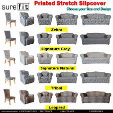 Details About SUREFIT Stretch PRINTED 1 Seater 2 Seater 3 Seater Couch  Cover & Recliner & Chai Wedding Chair Covers Ipswich Suffolk Amazoncom Office Computer Spandex 20x Zebra And Leopard Print Stretch Classic Slip Micro Suede Slipcover In Lounge Stripes And Prints Saltwater Ding Room Chairs Best Surefit Printed How To Make Parsons Slipcovers Us 99 30 Offprting Flower Leopard Cover Removable Arm Rotating Lift Coversin Ikea Nils Rockin Cushions Golden Overlay By Linens Papasan Ikea Bean Bag Chairs For Adults Kids Toddler Ottoman Sets Vulcanlyric