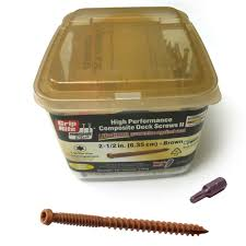 grip rite deck screws primeguard grip rite 2 1 2 x 9 high performance composite deck screws