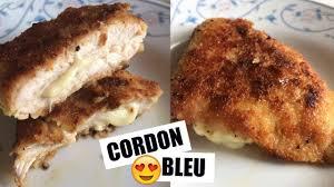 cordon bleu fait maison recette simple et rapide cookwithso