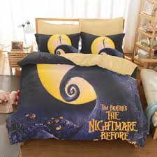 Nightmare Before Christmas Bedroom Design by Online Shop Home Textile 3d Printing Halloween Scarecrow Style