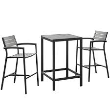 Patio, Lawn & Garden Set Of 2 Stools & Bar Chairs Modway ... Outdoor Chairs Set Of 2 Black Cast Alinum Patio Ding Swivel Arm Chair New Elisabeth Cast Alinum Outdoor Patio 9pc Set 8ding Details About Oakland Living Victoria Aged Marumi In 2019 Armchair Cologne Set Gold Palm Tree Outdoor Chairs Theradmmycom Allinum Fniture A Guide Alinium Rst Brands Astoria Club With Lawn Garden Stools Bar Modway