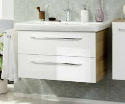 fackelmann badmöbel set 3 tlg 88 cm weiß badezimmer