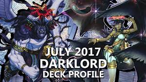 decks july 2017 yu gi oh darklord deck profile july 2017 666 subs special