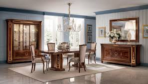 möbel tisch 8x stuhl sets esszimmer garnitur holz komplett barock rokoko neu
