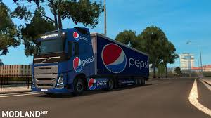Volvo Pepsi Combo Mod For ETS 2 Uncle D Logistics Pepsi Kenworth W900 Skin Mod American Truck Pepsicola Colctibles Truck Chevrolet By Juliosaez On Deviantart Freight Semi Trucks With Pepsi Logo Driving Along Forest Road Driver Uninjured In Train Crash Biloxi The Sun Herald Pepsico Orders 100 Tesla Semi Trucks Largest Order To Is Rallying After Places An Order For Semis Tsla Auto Remor Srl Mickey Bodies Parade Youtube