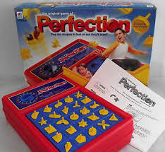 Image Is Loading 2003 Milton Bradley Perfection Board Game Complete WORKS