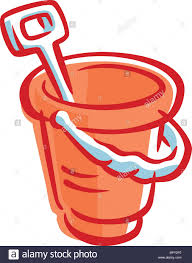 Drawing Of A Bucket With Spade