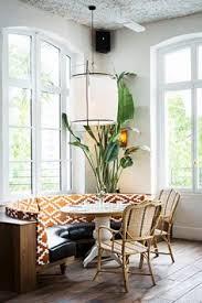 Parisian Eatery With Beautiful Boho Design Dining Room