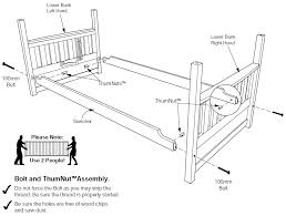 Malm Bed Assembly by Assembly Instructions Of Cinnamon Futon Bunk Bed How To Assemble