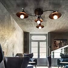 gbly e27 deckenleuchte vintage schwarz wohnzimmerle 4 flammig industrielle flurle innen schlafzimmerle esszimmerle aus plastik in moderner
