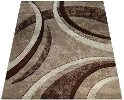 teppich brillance 758 paco home rechteckig höhe 18 mm kurzflor mit geometrischem design wohnzimmer kundenliebling mit 5 sterne bewertung