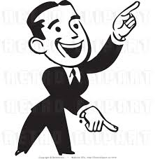 person pointing finger clipart Clipground