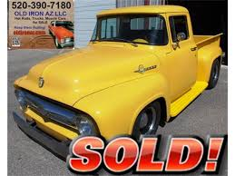 1956 Ford F100 For Sale | ClassicCars.com | CC-1038356 1953 Studebaker Pickup For Sale 77740 Mcg Antique Truck Club Of America Trucks Classic 1951 Ford F1 Restomod Sale Classiccarscom Cc1053411 Car Restorations Old Guys Restoration Used Parts Phoenix Just And Van 2012 Dodge Challenger For Flagstaff Az Intertional Harvester Classics On Autotrader 48 Brilliant Chevy In Az Types Of 1957 F150 The 25 Most Expensive Cars From The Years Biggest Collectorcar 1952 F2 Stepside Disverautosonlinecom Scottsdale Certified