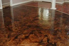 handypro handyman services stained acid edged concrete floor
