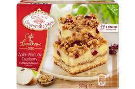 apfel walnuss cranberry blechkuchen coppenrath wiese