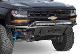 2014 - 2018 Chevy / 2016 - 2018 GMC 1500 ADD Lite Front Bumper W ...