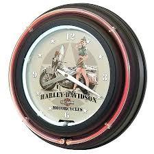 Harley Davidson Clock Home Decor Clocks Neon Canada