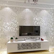homdox tapete moderne vlies tapete mit ziegel muster heimdekor für wohnzimmer schlafzimmer und tv hintergrund silber