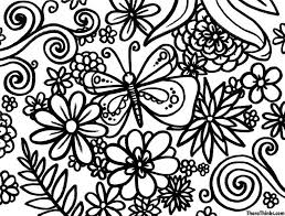 Fancy Spring Coloring Pages 52 About Remodel For Kids With