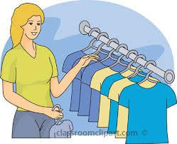 Clothes Shop Cliparts