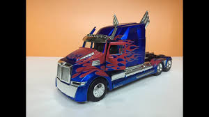 The NEW Optimus Prime! 1:24 Scale Unboxing & Review - YouTube You Can Purchase Optimus Prime From Transformers 13 Caropscom Dsngs Sci Fi Megaverse Tf4 Transformers 4 Age Of Exnction Exclusive Transformed Rolls Out Alanyuppies Lego The Last Knight Tf5 Western Star 5700 Xe Peterbilt 579 Truck Metallic Skin American He Is The Of Justice Enemy Forests Evywhere G2 Stock Photos Wester Ats 100 Corrected Introduces New Aerodynamic Highway Tractor News