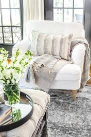 New Slipcovers For The IKEA Living Room Furniture - Bless'er ... Baxton Studio Patterson Wingback Beige Linen And Burlap Nailhead Tufted Accent Chair Sure Fit Striped Slipcover Products Custom Slipcovers By Shelley Gray Waterfall Skirt Couch Wingbackchaenviroment2 Decoration Inc Pin Gail On Stuff To Make For Chairs Upholstery Leather 53 Market Rustic Denim Farmhouse Chic Outdoor Youll Love In 2019 Wayfair Subrtex 2piece Elegant Jacquard Wing Back Cover Covers Chocolate 34 Examples Of Lavish Photographs Loose For Ding Making Room Loccie Better Homes