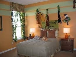 Adorable Jungle Themed Bedroom