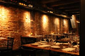 Exposed Brick Wall Restaurants