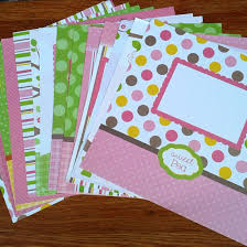 High Quality Custom Scrapbooking Paper Designs Pattern Pack