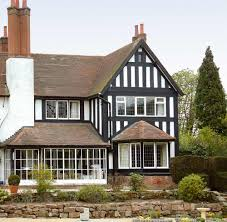 Mock Tudor House Photo by Oakleaf Mock Tudor Style Exterior Planking