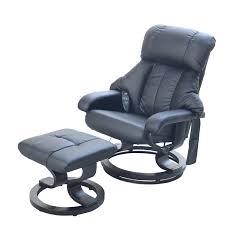 fauteuil de bureau relax fauteuil relax massant brasilia noir