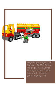 Lego Duplo Lego Ville Series # 5605 : Tanker Truck Set With Driver ...