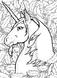 Unicorn Coloring Page Pages Printable Fairy For Adults Free