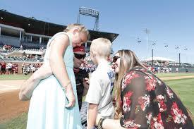 Spirit Halloween Tuscaloosa 2014 by Veteran Reunites With Family At Alabama Baseball Game News