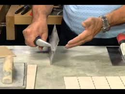 4x16 Subway Tile Trowel Size by How To Choose The Right Tile Trowel Youtube