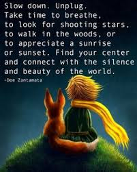Slow Down Unplug Take Time To Breathe Look For Shooting Starts