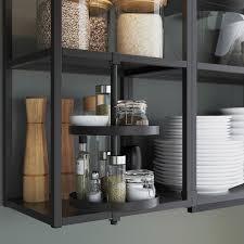 enhet küche anthrazit betonmuster 243x63 5x241 cm